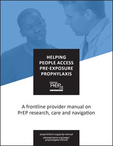 Picture of the PrEP manual