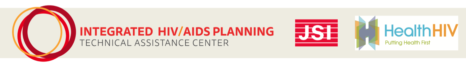 Integrated HIV/AIDS Planning Tech Assistance JSI HealthHIV banner